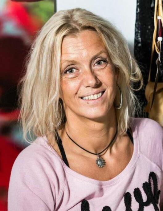RUSFRI: Marias mor, Line Eikenes Langsholt, jobber i dag med å hjelpe tidligere rusmisbrukere. Foto: Privat