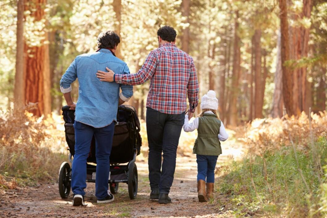 <strong>PASSER FOR MANGE TYPER FAMILIER:</strong> Både gifte, samboere, enslige eller likekjønnede par kan bli fosterforeldre. Foto: NTB Scanpix