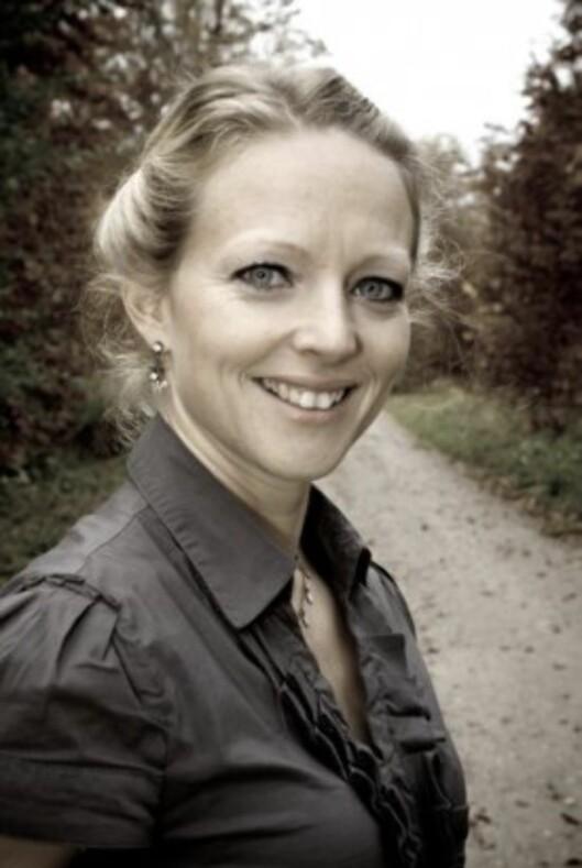 Sovecoach: Wegge hjelper mange familier i Danmark. Foto: privat