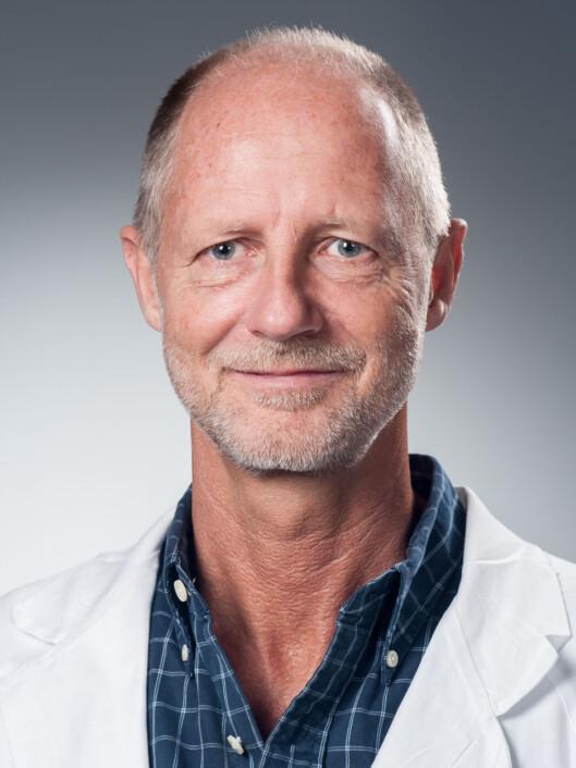 Henrik Holmstrøm, overlege ved barnehjerteseksjonen på Rikshospitalet Foto: Universitetet i Oslo