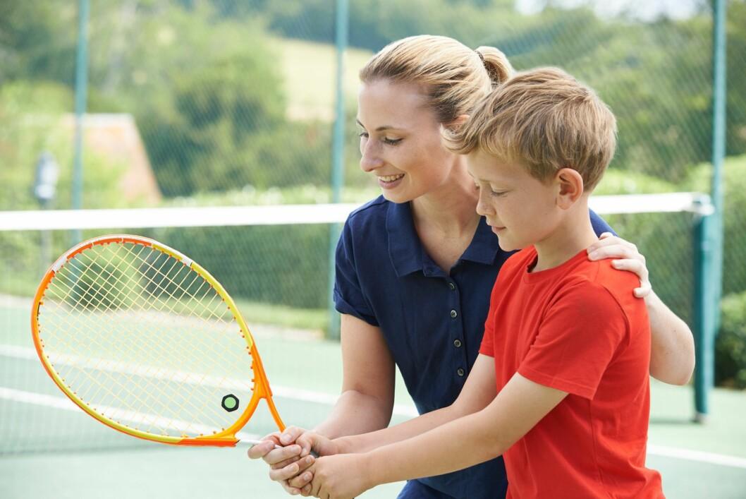 FREMGANG: Så lenge både trenere og foreldre fokuserer på barnets ferdigheter og fremgang fra sist. Retter voksne fokus på dette, vil barnet bli stimulert til å bli en læringsoptimist, altså ha en sunn holdning til konkurransen. Foto: NTB/ Scanpix