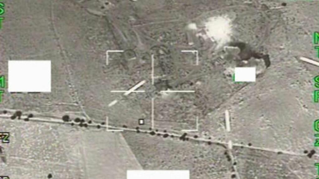 image: Se de svenske Gripen-flyenes overvåkningsbilde fra Libya
