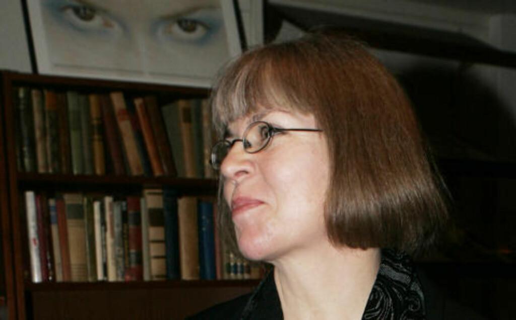 - UFINT: Anne Schäffer, leder i Norsk kritikerlag, er kritisk til måten Anders Heger har gått fram på. Foto: Morten Holm / SCANPIX .