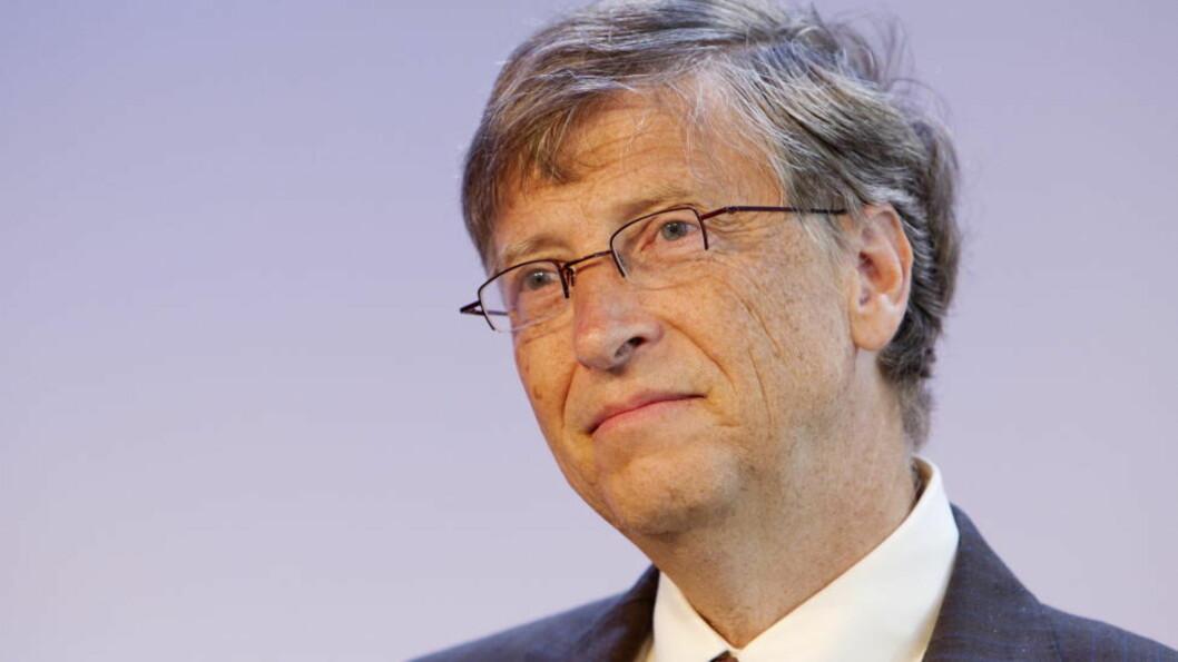 <strong>MØTTE JENS STOLTENBERG:</strong>  Bill Gates. Foto: Håkon Mosvold Larsen / Scanpix