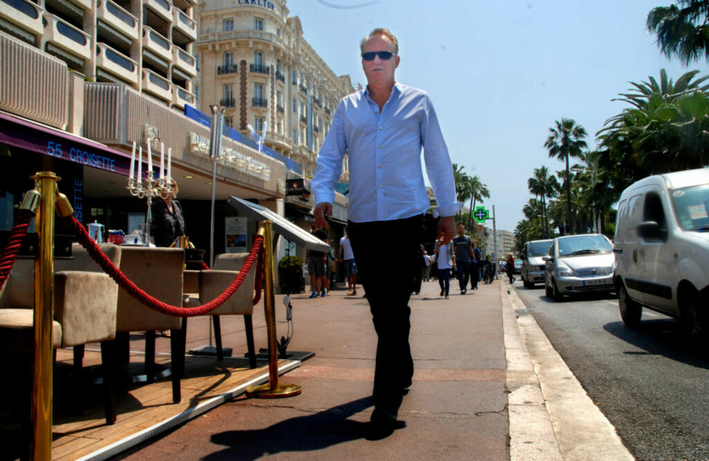 FORSVARER VON TRIER: Få skuespillere har jobbet så mye med Lars von Trier som svenske Stellan Skarsgård. Nå forsvarer han regissørens skandeluttalelser på filmfestivalen i Cannes. Foto: PÅL NORDSETH/DAGBLADET
