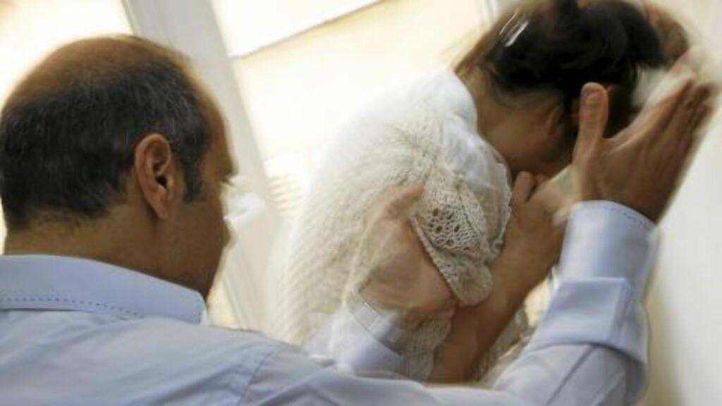 EKSPLOSJON: En person som har en patologisk tilstand i tillegg til sykelig sjalusi, kan krysse grensene for hva som er akseptert og bli voldelige mot partneren sin. Illustrasjonsfoto: www.colourbox.com