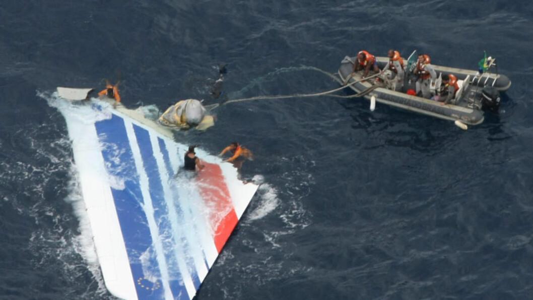 <strong>STYRTET:</strong> Air France flight 447 styrtet i 2009. Nå kan informasjon hentet fra flyets ferdskriver kaste lys over den mystiske ulykken. Foto: AP Photo/Brazil's Air Force/Scanpix