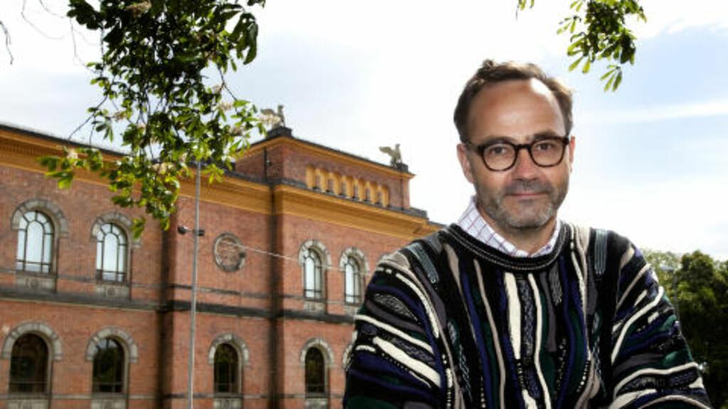 - ØDELEGGER TILLIT: Arkeolog Sjur Harby mener Jørn Holme ødelegger for Riksantikvaren som institusjon. Foto: Torbjørn Berg / Dagbladet