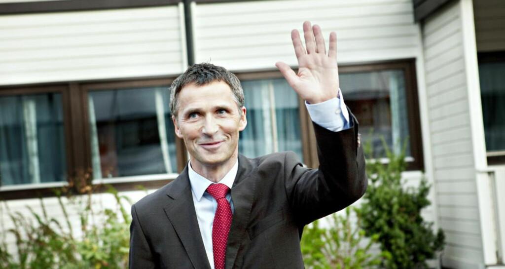 FERDIG: Statsminister Jens Stoltenberg kan som en av få statsoverhoder vinke farvel til finanskrisen. Foto: Nina Hansen / Dagbladet