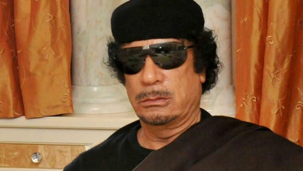 LA GRUSOM PLAN: Muammar Kadhafi organiserte massevoldtekter av uskyldige kvinner, ifølge ICC. Foto: EPA/Scanpix