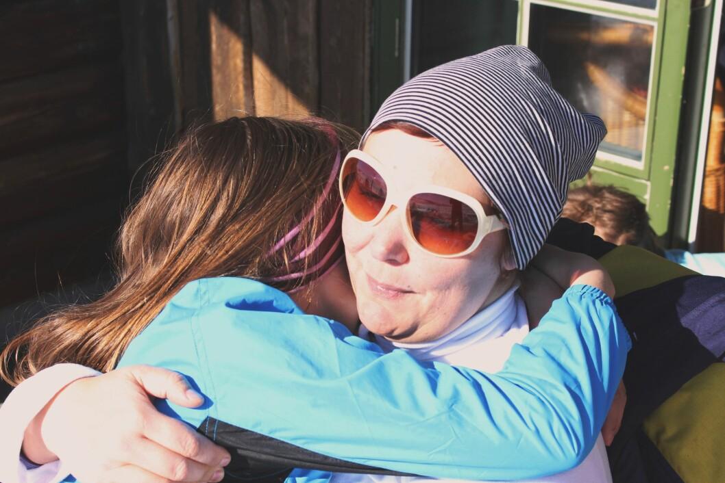 VANSKELIG PERIODE: Å bli rammet av kronisk utmattelsessyndrom gjør hverdagen som mamma utfordrende. Foto: Privat