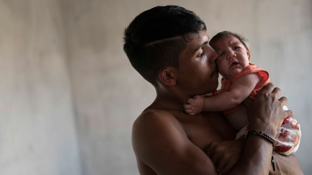 """MIKROEFALI: 2 700 barn ble født i Brazil med denne tilstanden i 2014. Man mistenker Zikaviruset for å forårsake tilstanden som """"krymper hjernen"""". Foto: NTB scanpix"""