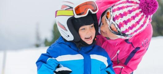 - Ufattelig at foreldre dropper hjelmen!