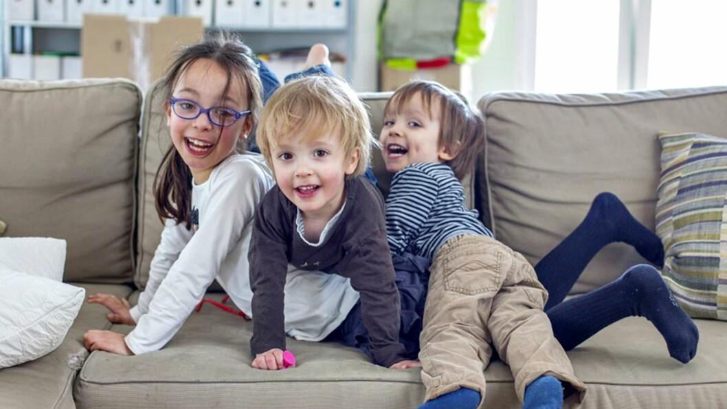 <b>MASSE UBRUKT ENERGI:</b> Når barna kjeder seg trenger de noen ganger hjelp til å kickstarte kreativiteten. Foto: Marie Docher / NTB Scanpix