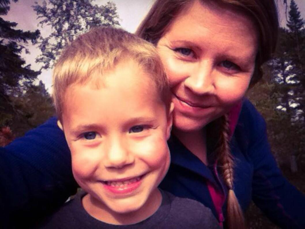 LYKKELIG: Det har tatt tid, men Linn er i dag den samme som hun var før hun mistet sitt første barn i krybbedød.  Foto: Privat