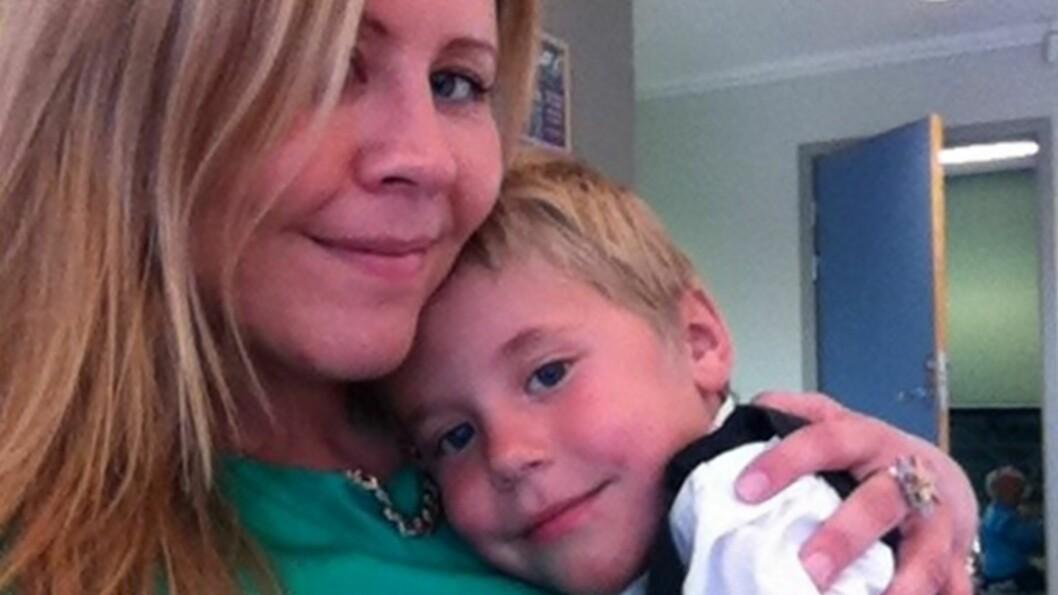 <b>SLIK GIKK DET:</b> Linn forteller om hvordan livet har vært for henne etter at hun mistet sin første sønn i krybbedød. Foto: Privat