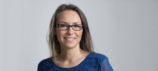 TERAPEUT: Caroline Lorentzen er homeopta og søvnterapeut, og er motstander av å forlate et gråtende barn. Foto: sovehjelp.no