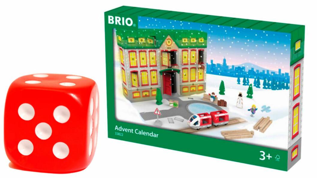 Brio Railway adventskalender: Falt i smak! Foto: produsenten