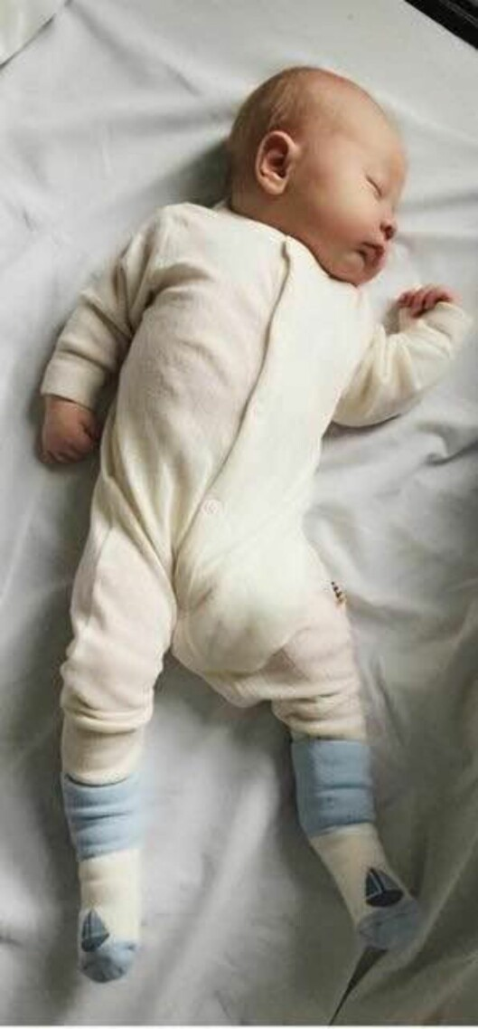 ØNSKEBARNET: Lille Peter er mamma og pappas - og storebrors - store lykke. Det tok sju lange år før han kom til. Foto: PRIVAT