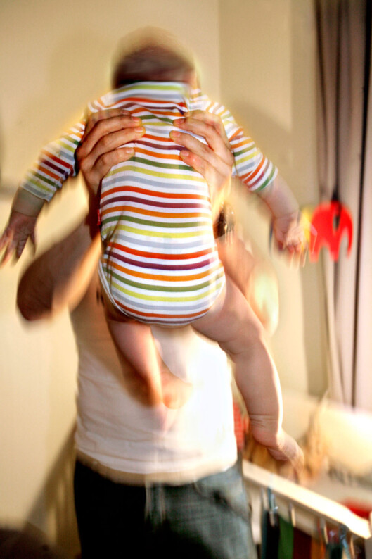 AGGRESJON: Ikke mist kontrollen, og la det gå ut over barnet. Foto: NTB scanpix