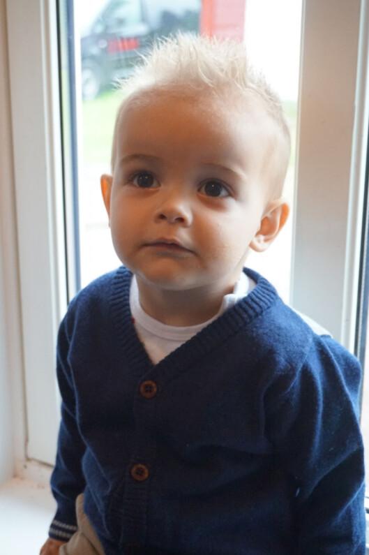 <strong>SJARMØR:</strong> Adriel-Amadeus er to år gammel.  Foto: Privat