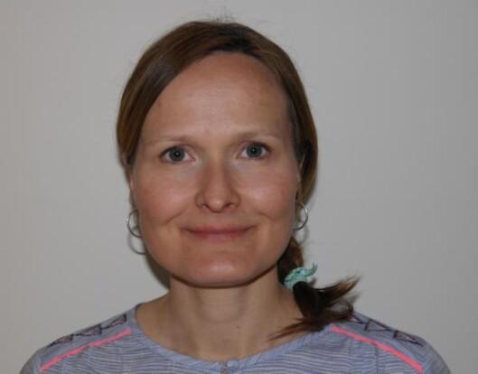 Helsesøster ved Konnerud helsestasjon i Drammen, Merethe Bragstad.  Foto: privat