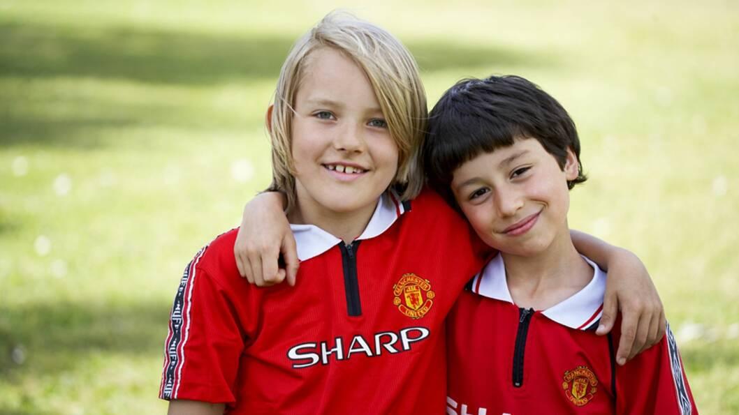 <b>FOTBALLGLEDE:</b> - Tenk på at det er ditt barn som spiller fotball – ikke du! Foto: NTB Scanpix
