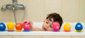 Du vil ikke vite hva badeleken kan inneholde!