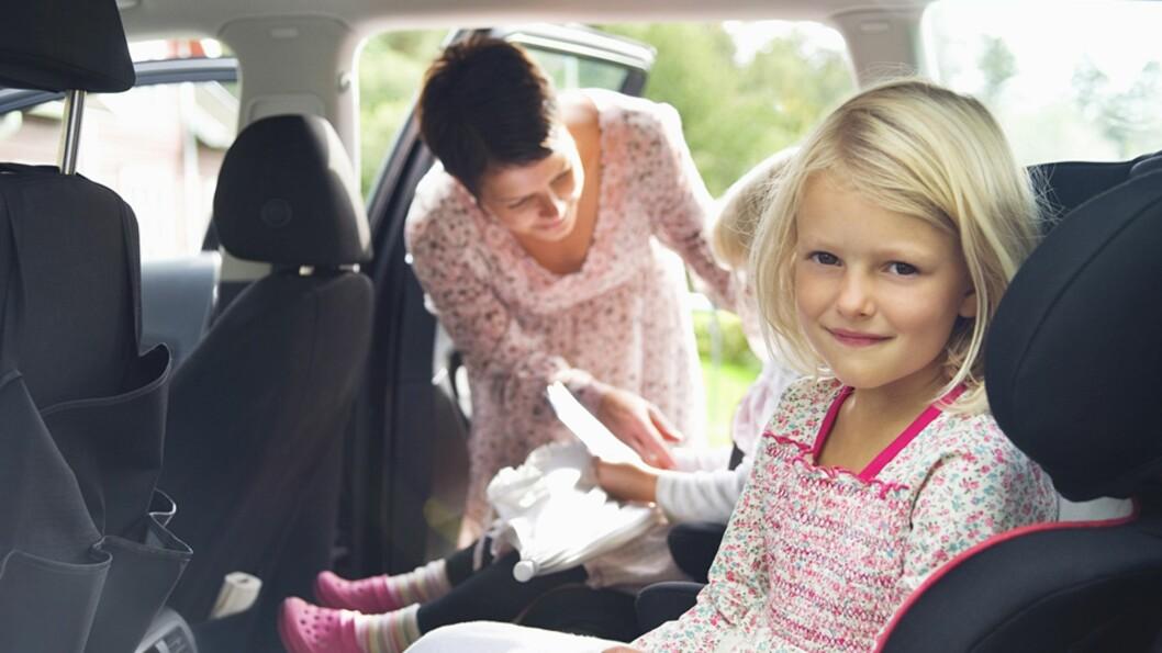 <b>ARVER FORELDRENES HOLDNINGER:</b> Ekspertene mener barn i stor grad overtar og kopierer foreldrenes atferd og holdninger i trafikken. Foto: NTB Scanpix