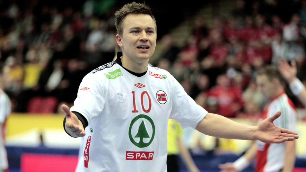 <strong>FORTVILTE:</strong> Håvard Tvedten scoret seks og var blant Norges bedre spillere. Det holdt derimot ikke til seier.