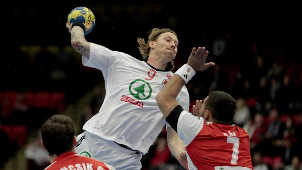 <strong>ANGREPSTRYGGHET:</strong> Børge Lund har større trygghet i angrep nå, siden han også spiller framover i klubblaget.