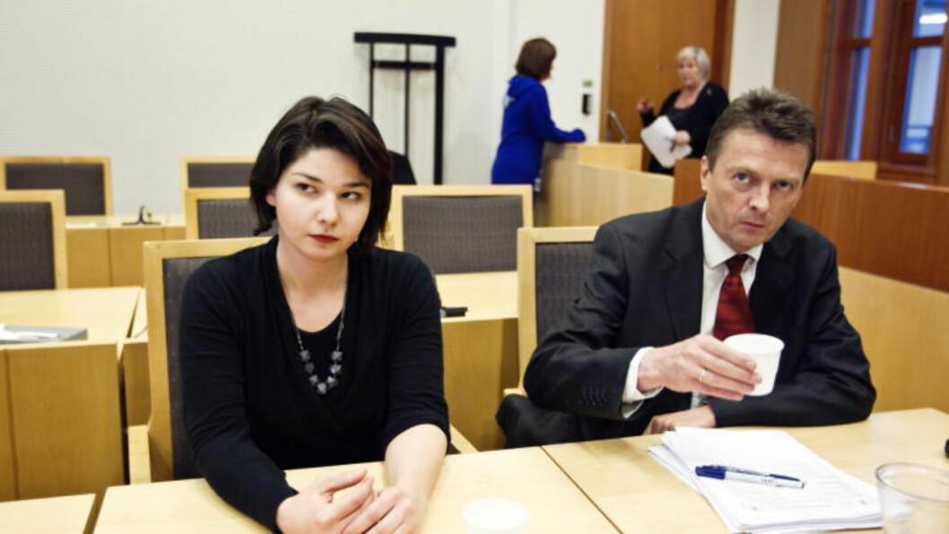FRYKTER ALVORLIGE PROBLEMER:  Advokat Brynjulf Risnes frykter at Maria Amelie blir sendt rett til foreldrenes gamle hjemby i Kaukasus og får store problemer med å skaffe papirer i Russland.  FOTO: CORNELIUS POPPE, SCANPIX.