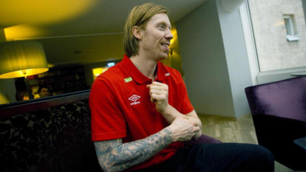 <strong>HOLDER ORDEN:</strong> Børge Lund sørger for å holde lagkameratene litt i øra - gjennom bøtesystemet.