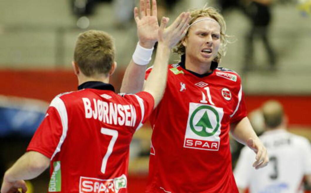 <strong>TOK MYE ANSVAR:</strong> Erlend Mamelund tok mye skuddansvar mot Østerrike. Foto: HÅKON MOSVOLD LARSEN/SCANPIX