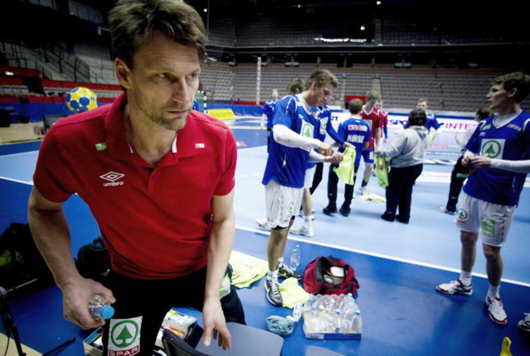 <strong>TRENGER POENG:</strong> Robert Hedin vil helst ha med seg poeng inn i mellomspillet. I så fall bør Norge slå Island på torsdag.