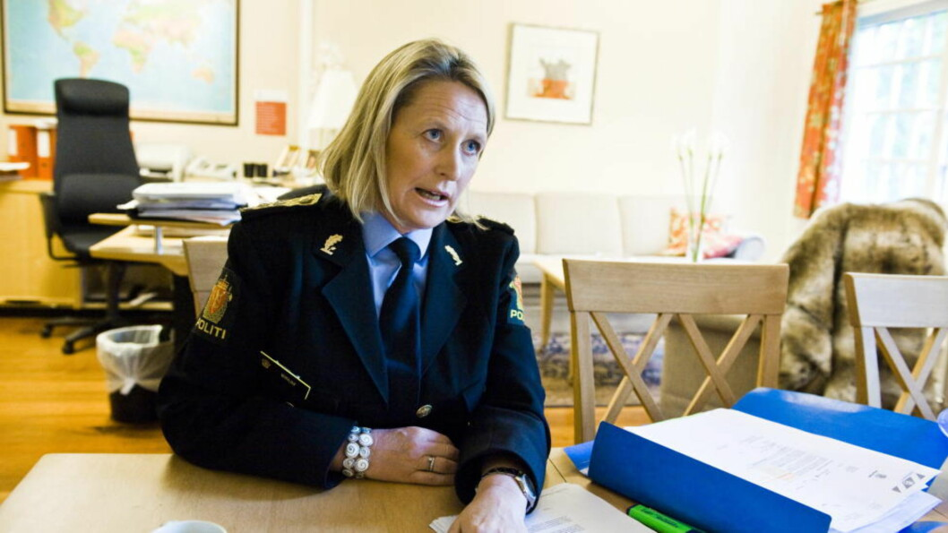 <strong>- MÅTTE AKSJONERE:</strong> PU-sjef Ingrid Wirum sier politiet var nødt til å aksjonere. - Vi aksjonerte, fordi vi hadde konkrete opplysninger om hvor hun befant seg. Foto: Håkon Eikesdal / Dagbladet