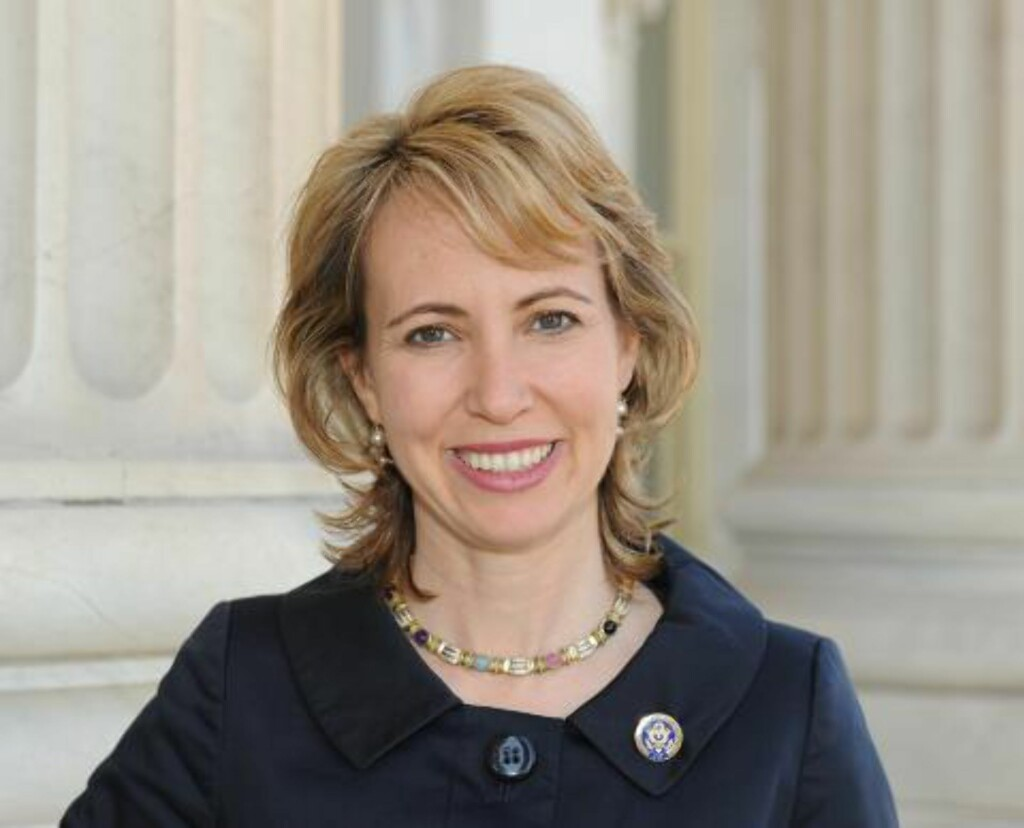 SKUTT I HODET: KOngresskvinne Gabrielle Giffords (40). Foto: AP/Office of Rep. Gabrielle Giffords