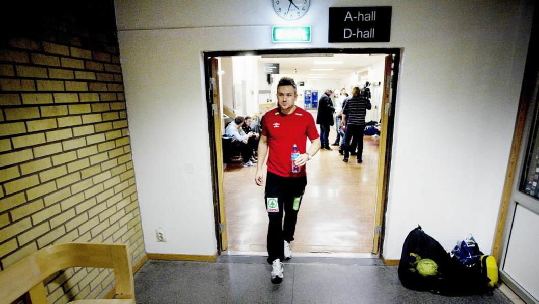 <strong>STORSCORER:</strong> Håvard Tvedten er en notorisk målscorer - men han har også vist at han duger som målvakt også.