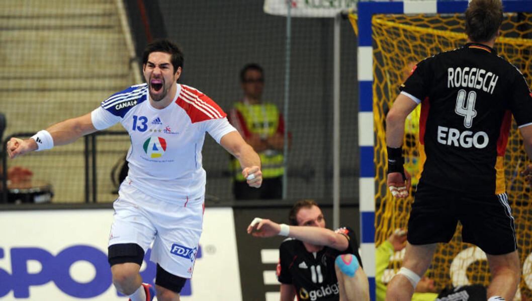<strong>VANSKELIG Å STOPPE:</strong> Nikola Karabatic er en komplett håndballspiller, ifølge Børge Lund. Foto: FRANCK FIFE/AFP