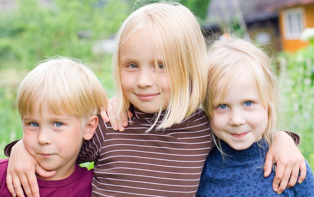 IDEELL ALDERSFORSKJELL MELLOM SØSKEN: Pedagogen Elisabeth Schönbeck mener man bør vente minst tre år. Foto: Colourbox
