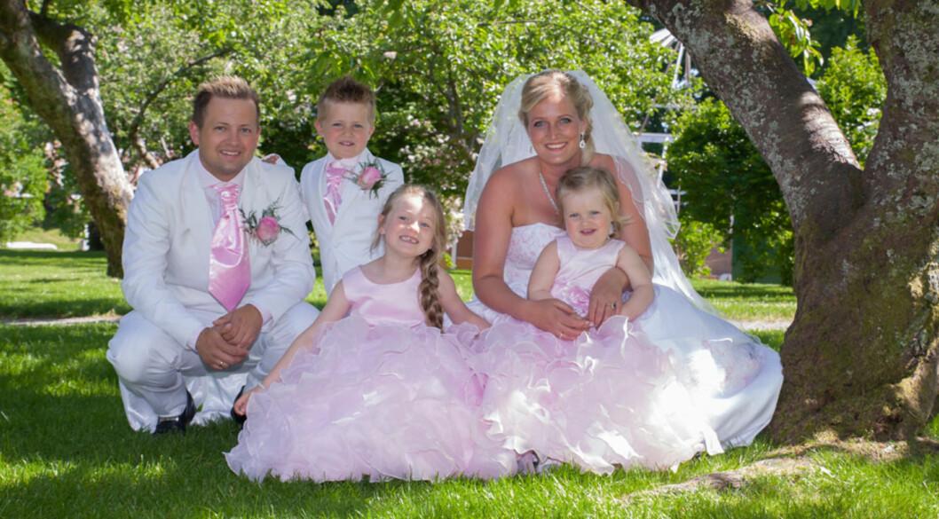 BRYLLUP: I dag er Annette og Ole Kristian gift Foto: privat