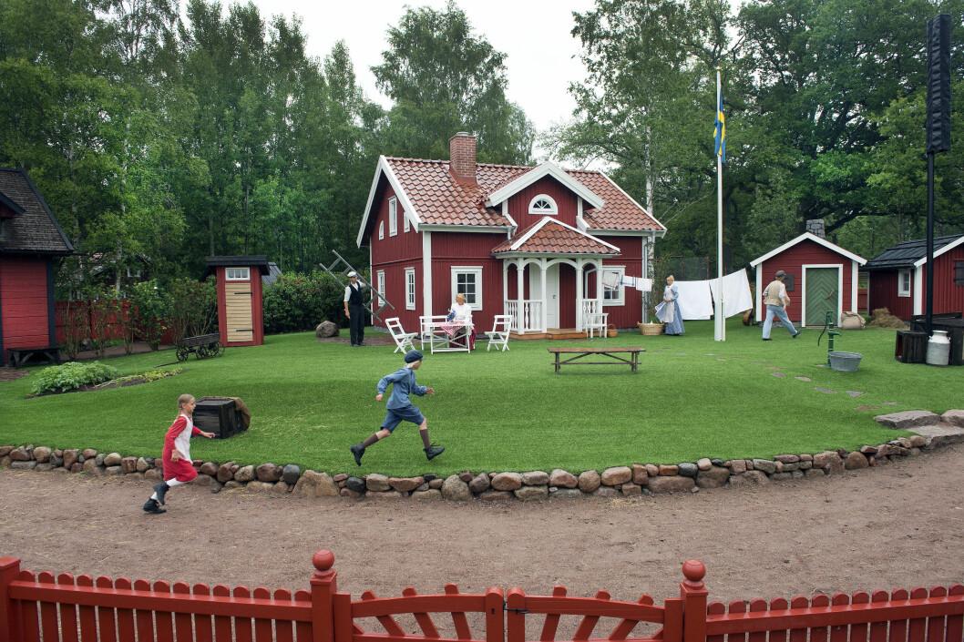 Katthult i Astrid Lindgrens Verden. Foto: Örjan Karlsson/Astrid Lindgrens Värld
