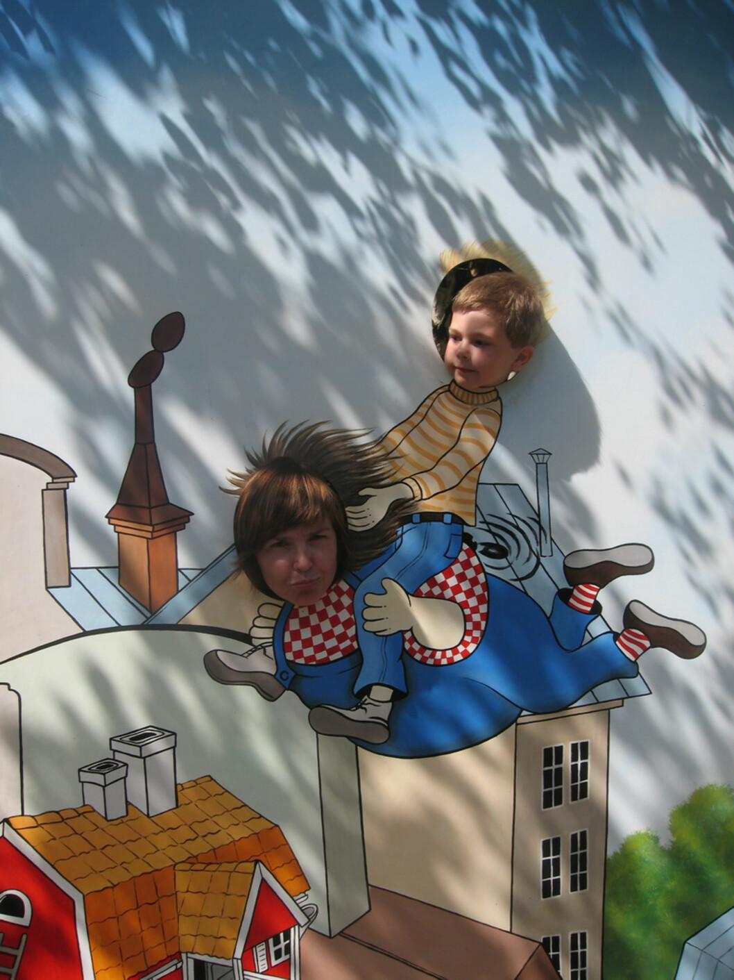 Alle Astrid Lindgrens karakterer er på plass! Foto: Mammanett