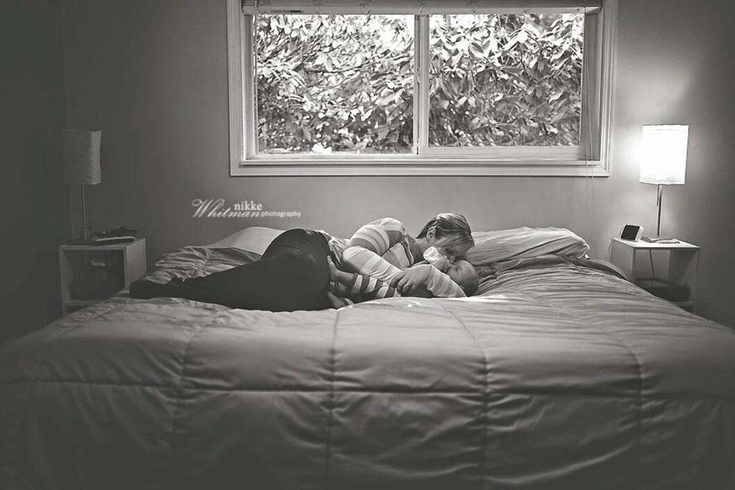NÆRHET MELLOM MOR OG BARN:  Foto: Nikke Whitman Photography