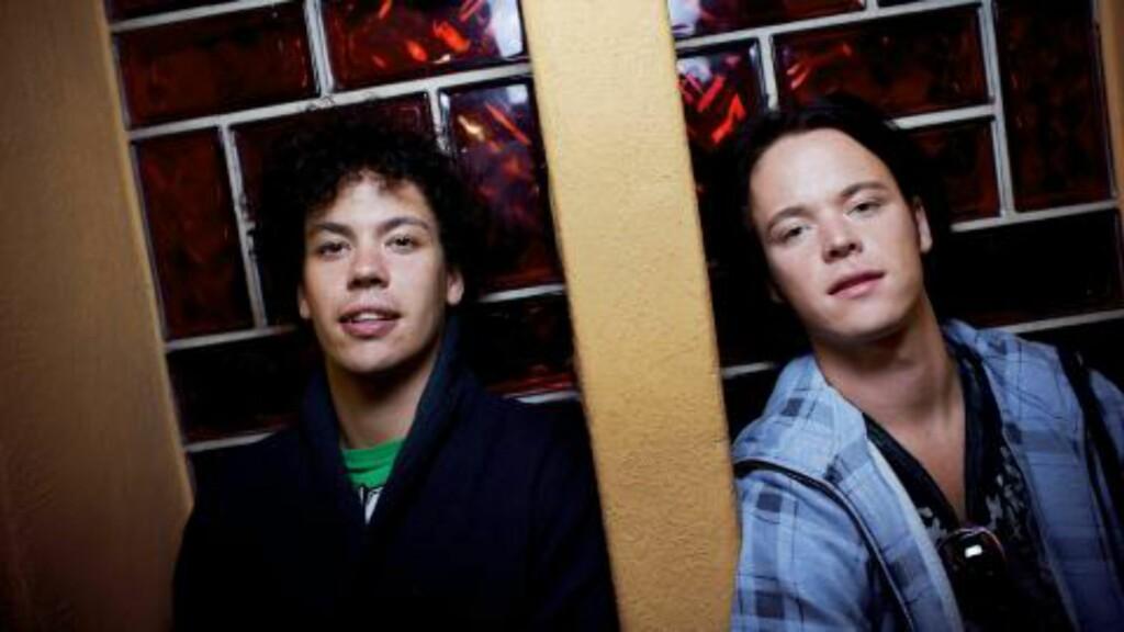 - FLY MED SAS: Bandet Donkeyboy med brødrene Cato (t.v.) og Kent Sundberg i spissen, oppfrodrer Kråkesølv til å fly SAS framfor Norwegian.  Foto: Tore Meek / SCANPIX .