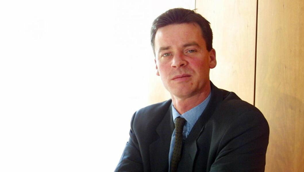 <strong>JA TIL VÅPNENE:</strong> Statssekretær Roger Ingebrigtsen tror norsk våpenindustri kan  gi økonomien et løft i framtida.     Foto VEDLOG/HANS ARNE Dagbladet