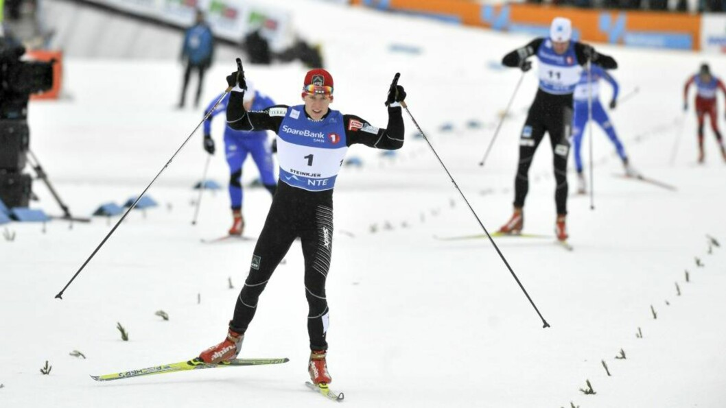 VM-KLAR: Anders Gløersen gikk seg inn på det norske VM-laget med tredjeplassen i Rybinsk. Her under NM i Steinkjer i forrige uke.Foto: Ned Alley / Scanpix