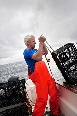 UNNTAKET: Kjetil Frøyland har lov til å fiske hummer når han vil. Foto: METTE RANDEM