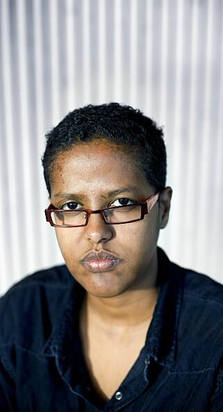 Amal Aden, spaltist. Foto: Monica Strømdahl