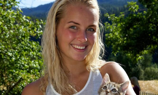 <strong>TIDENES YNGSTE:</strong> Ingvild Skare Thygesen overrasket mange da hun gikk helt til topps i «Farmen» i 2012, som den yngste vinneren hittil.  Foto: TV 2